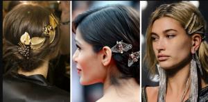Модные заколки для волос 2020